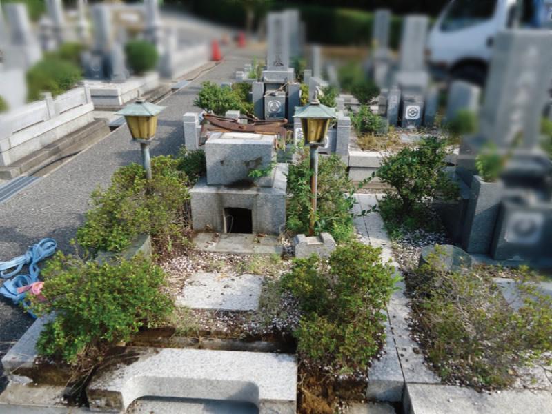 お墓の移転・墓じまいの様子3