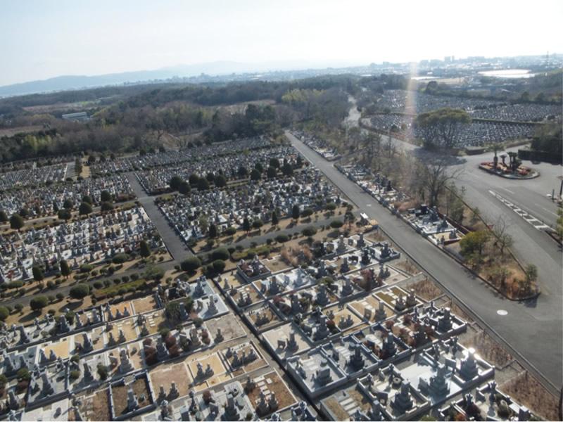 明石市営石ヶ谷墓園写真