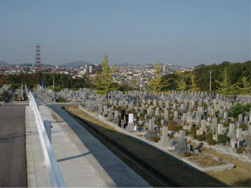 神戸市営鵯越墓園写真