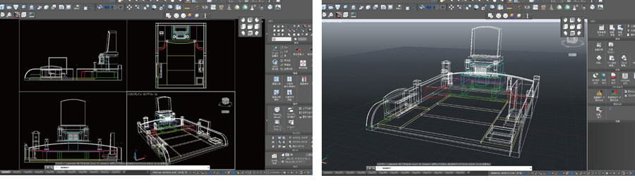 墓石デザイン、CADを使ってお墓を設計。